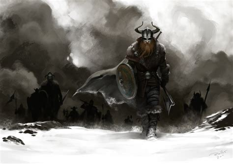marching to valhalla by chrisrallis on deviantart