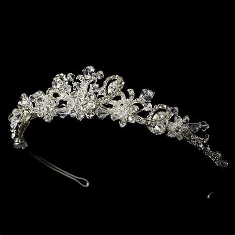 braut diadem swarovski swarovski crystal bridal tiara hp 7821
