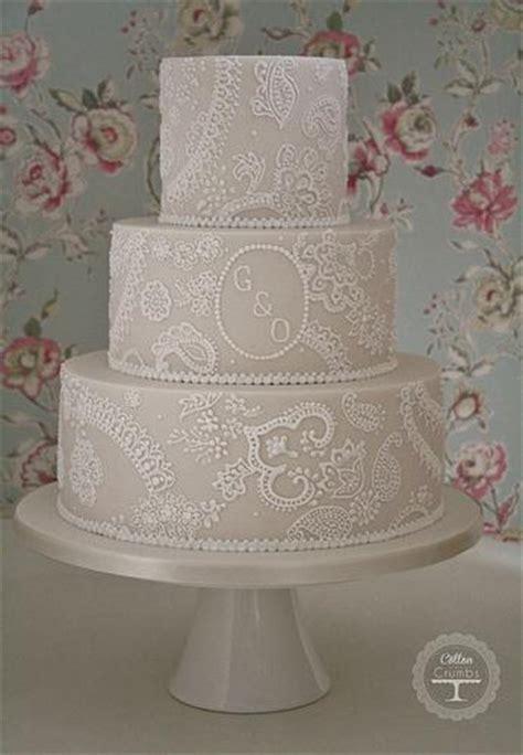 Hochzeitstorte Spitze by Hochzeitstorten Paisley Spitze Hochzeitstorte 1987453