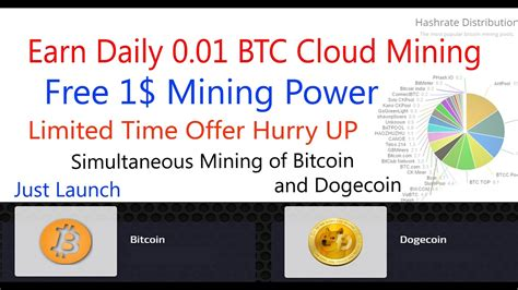 Bitcoin Mining Cloud Computing 1 by Earn Free 0 01 Bitcoin Daily Bdcloud Earn Bitcoin From