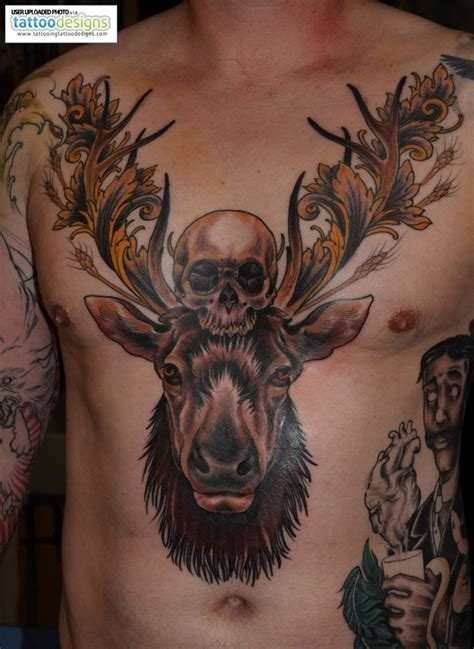 elk tattoos designs that s an elk ideas central