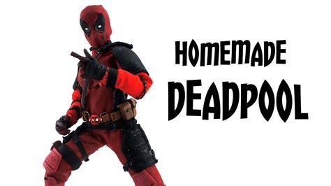 make a figure how to make a deadpool figure