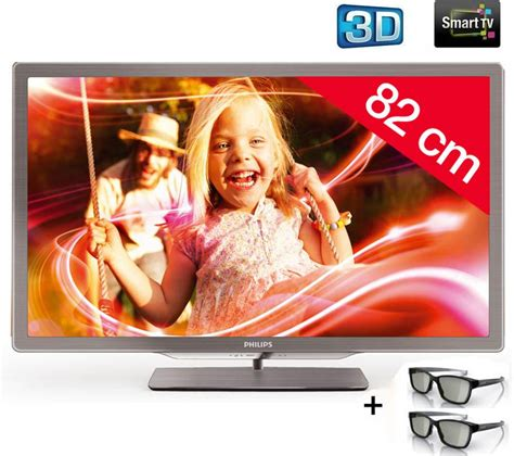 Lu Led Philips Di Carrefour tv led 3d carrefour t 233 l 233 viseur led 3d 32pfl7606h philips