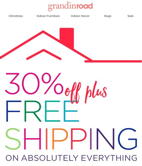 Ballard Designs Free Shipping Coupon grandin road coupon code coupon codes amp promo codes