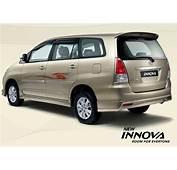Cars Fashion Toyota Innova