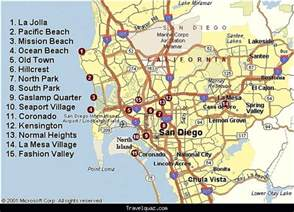San Diego Tourist Map by San Diego Map Tourist Attractions Travel Holiday Map