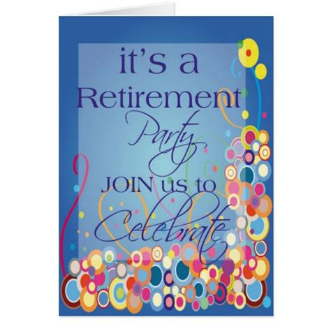 printable retirement invitations cards diva s retirement party invitation cards zazzle