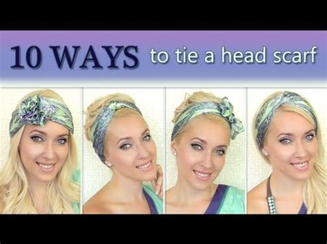 how to wear your hair smell like the long island medium 10 different ways to wear 1 scarf on your head how to tie