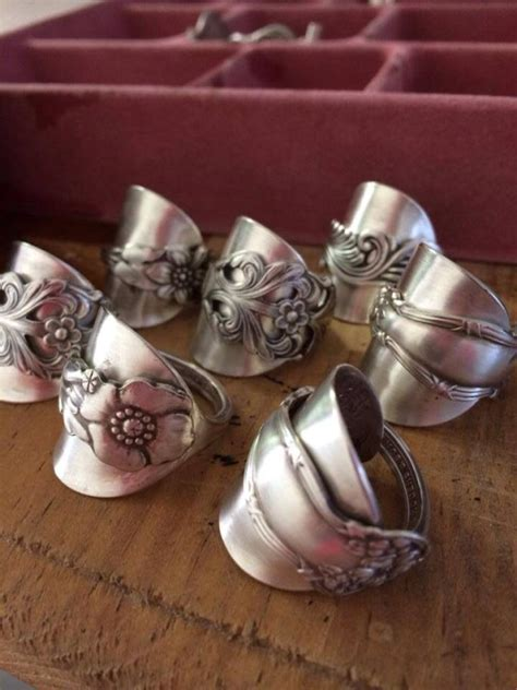 make silver jewelry how to make spoon rings and bracelets wonderful new way