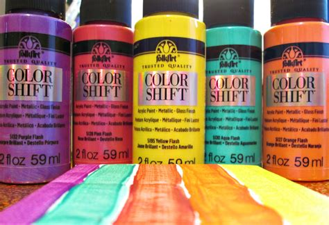 folkart color shift paints the adventures of