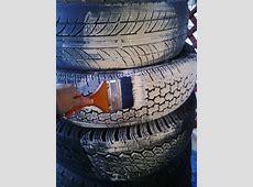 Making a Tire Snowman | ThriftyFun Tire Stack