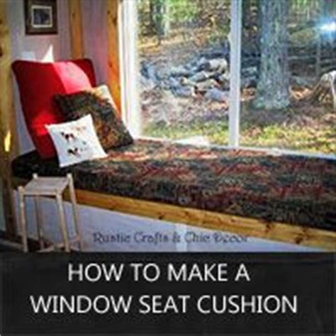 how to sew window seat cushions how to make a bay window bench seat cushion woodworking
