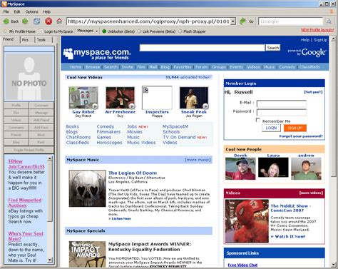 Myspace Search For Myspace