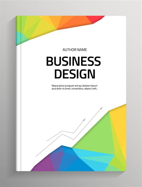 design cover free brochure and book cover creative vector 06 vector cover
