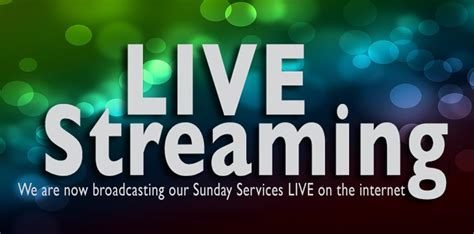 church services live streaming