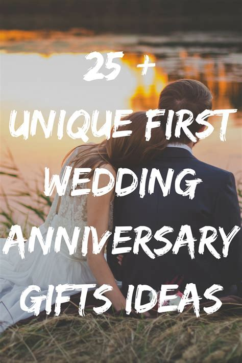 Find the best first wedding anniversary gifts ideas for