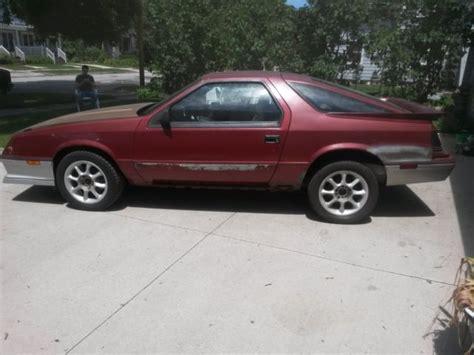 1984 dodge daytona turbo z for sale 1984 dodge daytona turbo z v8 conversion rwd for sale