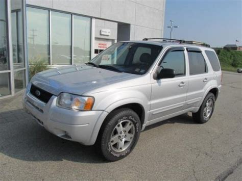 2003 ford escape specs 2003 ford escape limited 4wd data info and specs