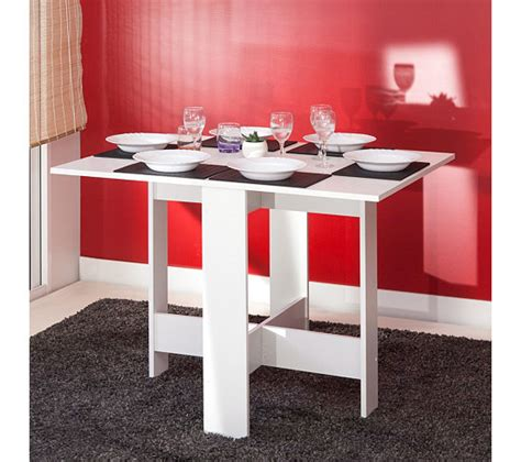 table de cuisine pliable table de cuisine pliable leane blanc tables but