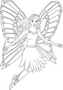 free printable barbie coloring for girls coloring pages