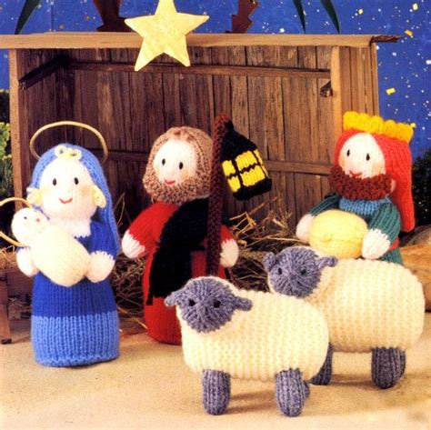 knitting pattern nativity 458 best images about christmas crochet and knitting on