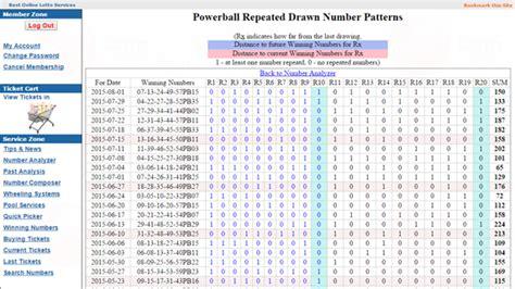 pattern analysis of powerball how to analyze previous powerball numbers