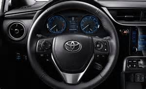 Steering Wheel Shakes Toyota Corolla 2017 Toyota Corolla Features And Styling