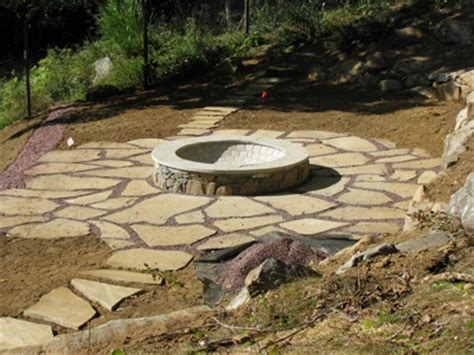 flagstone pit 25 best images about rock patio pit ideas on