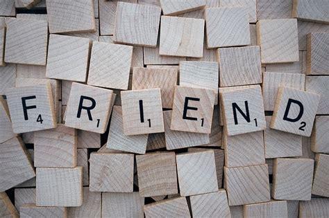 is en a scrabble word free photo friend word scrabble letters free image