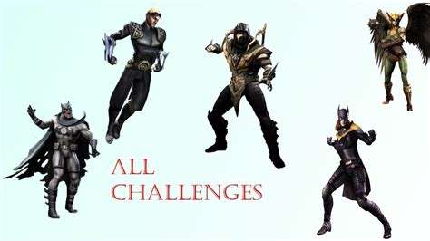 injustice challenge characters how to unlock previous future challenge characters in