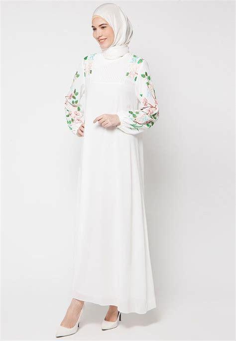 Gamis Arab Khanza tilan riasan pengantin dengan trbanlar tesettr