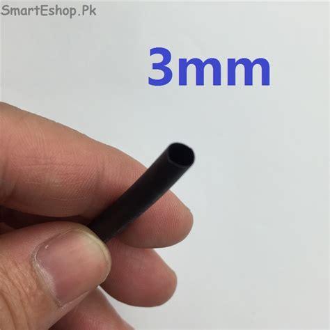 Heatshrink Ecer 3 Mm 1 Meter 1 meter lot black 3mm diameter heat shrink tubing