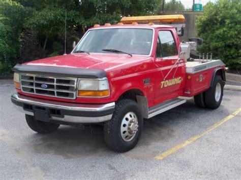 how cars engines work 2009 ford f450 head up display buy used ford 1997 f450 tow truck milles 85 025 engine 7 3 turbo diesel 5 speed trans in