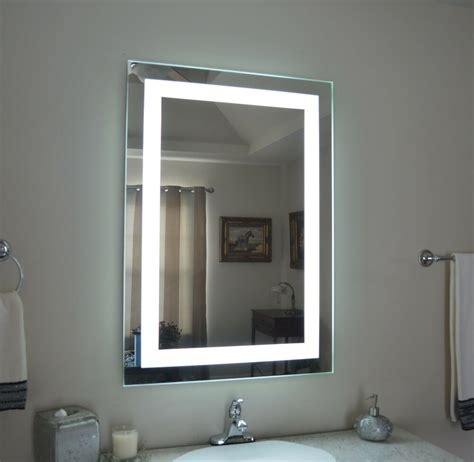lighted bathroom vanity   mirror led lighted wall mounted mam  ebay