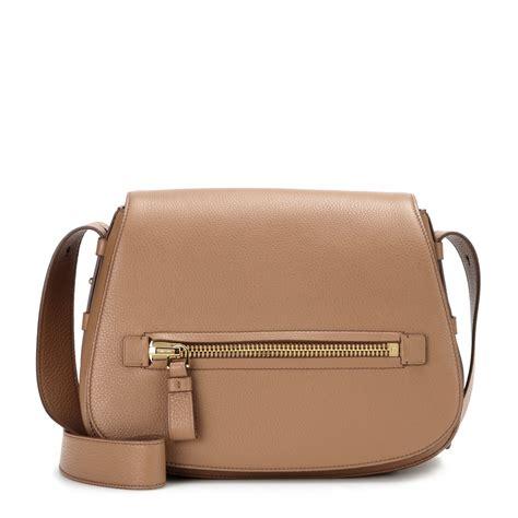 Tom Ford Bag by Tom Ford Soft Leather Shoulder Bag In Brown Lyst