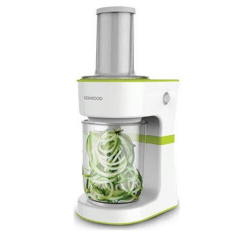 Vegetable Spiral Slicer Cutter kenwood kitchen electric spiralizer vegetable fruit spiral