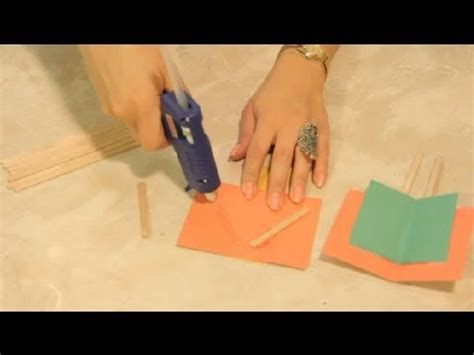 How To Make A Flying Out Of Paper - paper popsicle stick flying machine crafts craft project