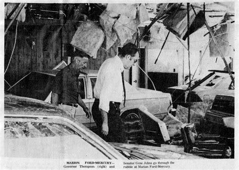 1982 tornado kills 10 and creates major damage to marion