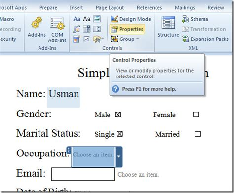 make calendar in word 2010 create user entry forms in word 2010