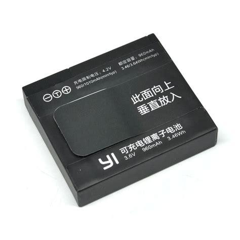 Yi Battery Replacement Xiaomi Yi Battery Xiaomi Yi Oem 2 original battery replacement 960mah for xiaomi yi