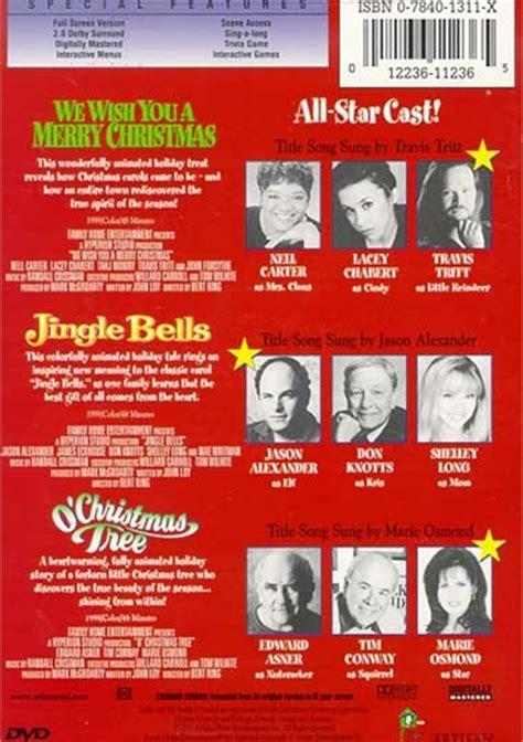 o christmas tree dvd 1999 classics we wish you a merry jingle bells o tree dvd 1999