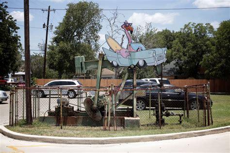 backyard oil backyard oil pumps in luling texas amerika