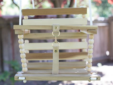 wooden baby swing plans diy tree swing for baby