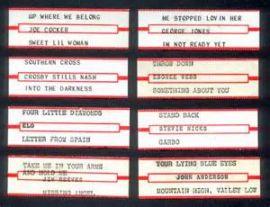 print jukebox labels submited images
