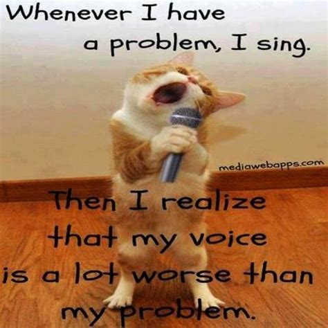 Singing Cat Meme - good morning world have a great day funny pinterest