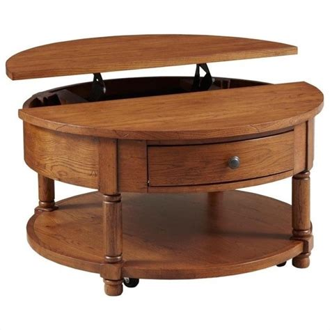 broyhill attic heirlooms lift top cocktail table in
