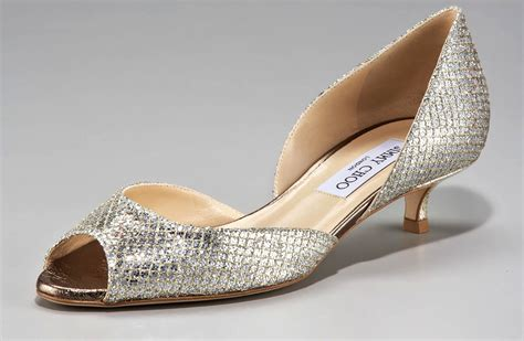 Gold Flat Bridal Shoes by Nearly Flat Wedding Shoes Gold Jimmy Choos Onewed