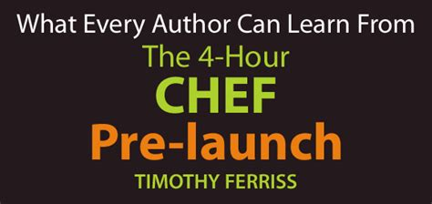 libro the 4 hour chef the how to launch a book the 4 hour chef pre launch book cover cafe