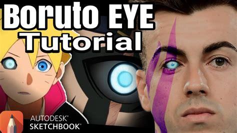 autodesk sketchbook tutorial youtube mata boruto illustration tutorial autodesk sketchbook