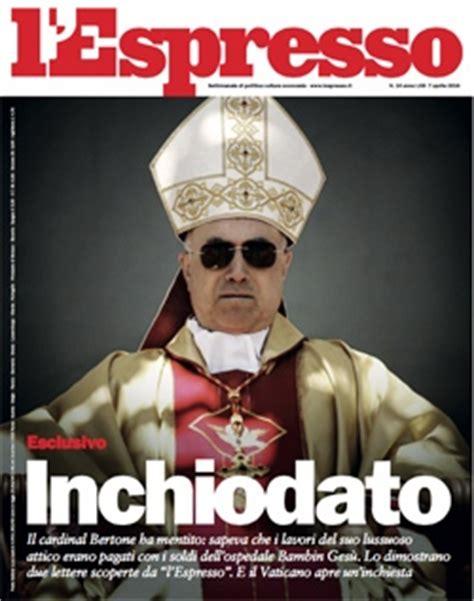cardinale bertone appartamento vaticano apre inchiesta sullattico di bertone lespresso
